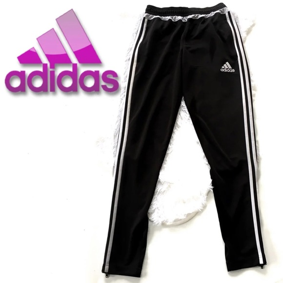 9aaa90657264 adidas Pants - Adidas Black   White Climacool Joggers Small
